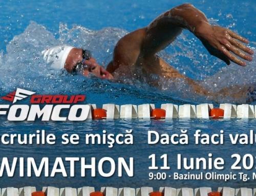 Duminică 11 iunie, înotăm pentru copiii bolnavi de cancer