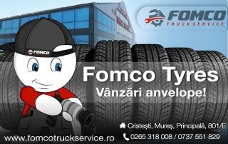 Noua noastră gamă de produse și servicii denumită FomcoTyres este rezultatul perfecționării și dezvoltării serviciilor oferite până acum