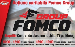 Actiune caritabila Fomco Group casa Lidia