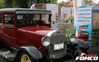 Fomco group at Castle Classic Rally 2017