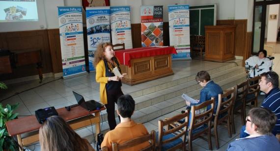 Conferință de presă despre Parcul HIFA