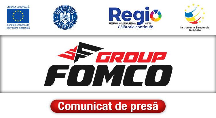 Comunicat de presă Fomco Group